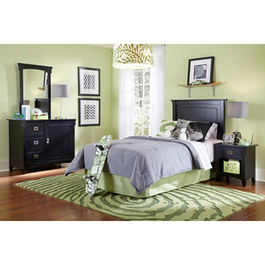 Mission Twin Bedroom Set Black Sam 39 S Club