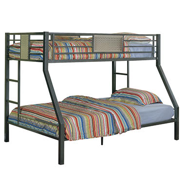Monster Bedroom Twin Full Bunk Bed Sam s Club