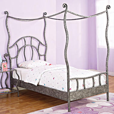 Parisian Twin Size Canopy Bed