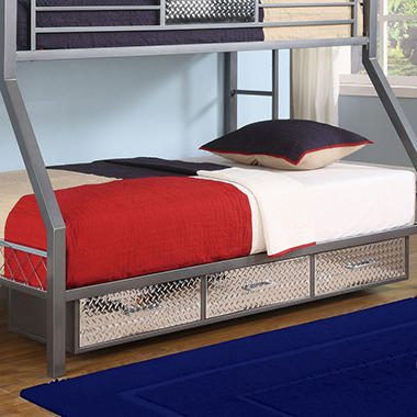 HQ Escape 3-Drawer Under Bed Storage Unit