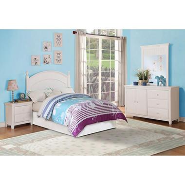 wendy full bedroom set white sam 39 s club
