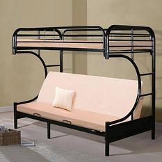 Futon Black Bunk Bed