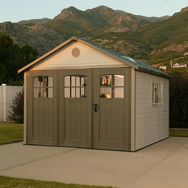 Lifetime� 11' x 11' Resin Shed