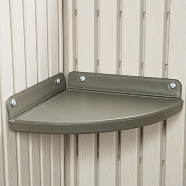 Lifetime� Corner Shelves  - 2 pk.