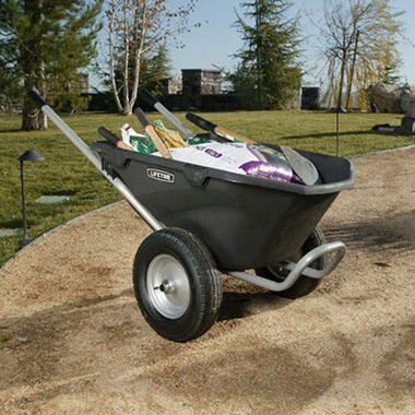 Lifetime 174 Wheelbarrow 6 5 Cu Ft Sam S Club