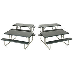Lifetime 6' Folding Picnic Table - 4 pack