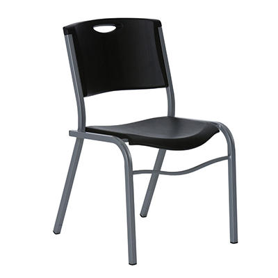 Lifetime - Stacking Chair - Black