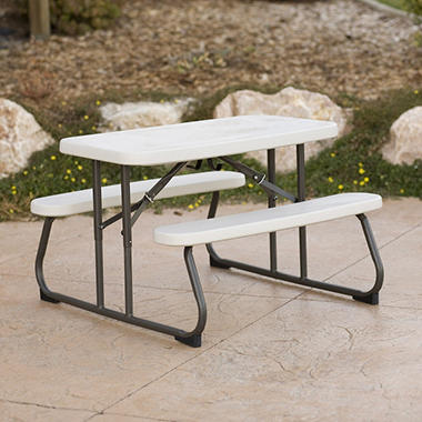 "Lifetime 32.5"" Kids' Picnic Table - 4 pack"