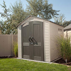 Lifetime Outdoor Storage Shed - 7' x 7'