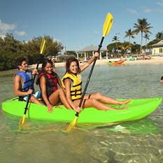 Lifetime® 10' Adult Tandem Kayak w/ Backrests - Lime Green