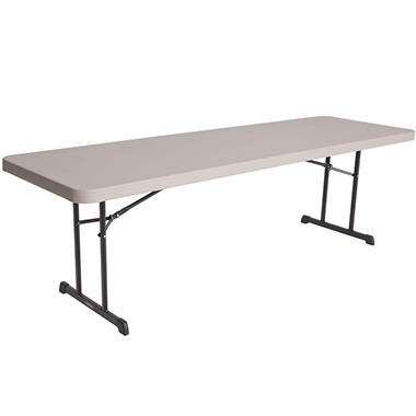 Lifetime Professional Grade Folding Table - 6' - Putty - 4 pack