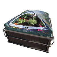 Lifetime Raised Garden Kit (2 beds, 1 enclosure)