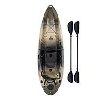 Lifetime 3-Man Sport Fisher Kayak, Camouflage