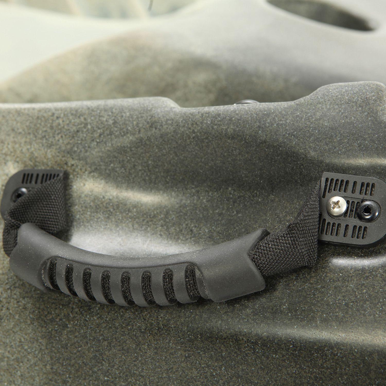 Lifetime 10 feet tandem fishing kayak with paddles for 10 fishing kayak