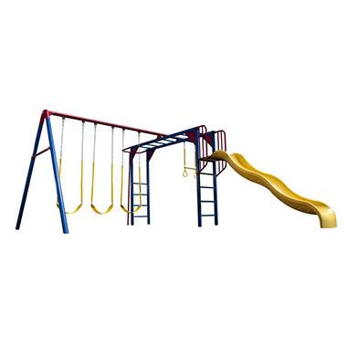 Lifetime® Monkey Bar Adventure Swing Set - Primary Colors