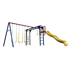 Lifetime® Monkey Bar Adventure Swing Set - Primary Colors