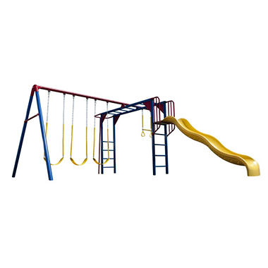 Lifetime� Monkey Bar Adventure Swing Set - Primary Colors
