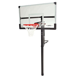 "Lifetime 54"" In-Ground Tempered Glass Basketball System"