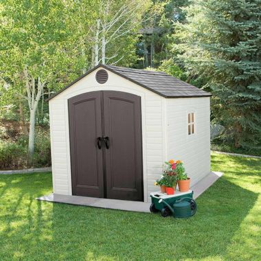 Lifetime 174 8 X 10 Outdoor Storage Shed Sam S Club