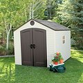 Lifetime® 8' x 10' Outdoor Storage ShedImage