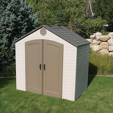 Lifetime® 8' x 5' Resin Storage Shed