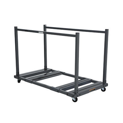 "Lifetime 57.5"" Rolling Table Storage Cart - Steel"