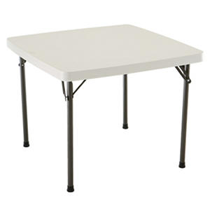 "Lifetime 37"" Commerical Grade Card Table, Select Color"