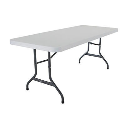 Lifetime 6' Commercial Grade Folding Table (Select Color and Quantity)