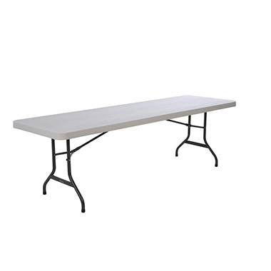 Lifetime 8' Commercial Grade Folding Table - Almond