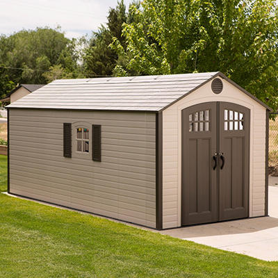 Lifetime Storage Shed (8' x 17.5')