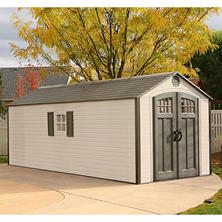 Lifetime 8' x 20' Outdoor Storage Shed