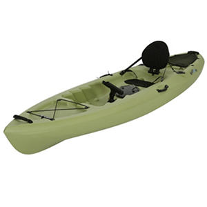Lifetime Weber 132 Kayak, Olive Green