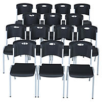 Lifetime Stacking Chair, Black (Select Quantity)