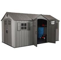 Lifetime 15 Ft X 8 Ft Outdoor Storage Shed- Model # 60318