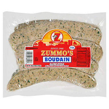 Zummo's Boudain Cajun Style (3 lb.)