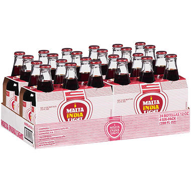 Malta India Light Malt Beverage (12 fl. oz., 24 pk.)