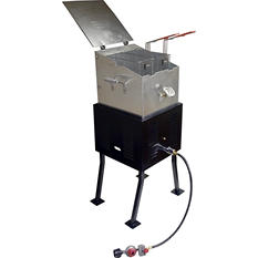"King Kooker ""V"" Bottom Multi-Purpose Outdoor Cooker Package"
