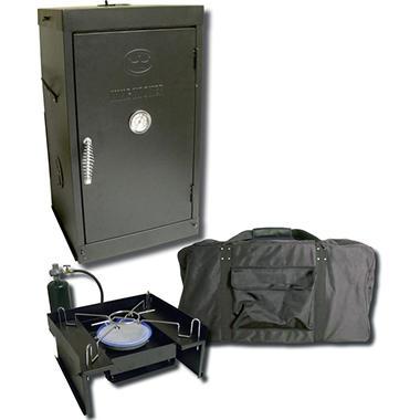 King Kooker Portable Propane Outdoor Smoker, Oven & Stove