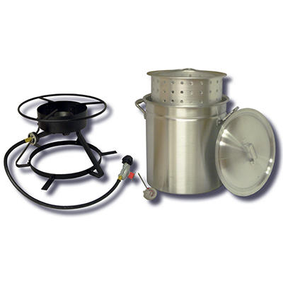King Kooker Steaming and Boiling Cooker Package