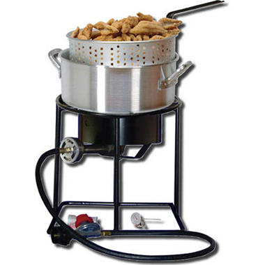 King Kooker Portable Propane Outdoor Fish Fryer Package