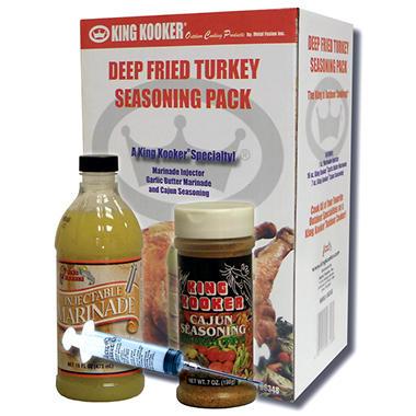 King Kooker Deep Fried Turkey Seasoning Pack