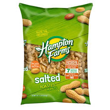 Hampton Farms Salted Shell Peanuts - 5 lbs.