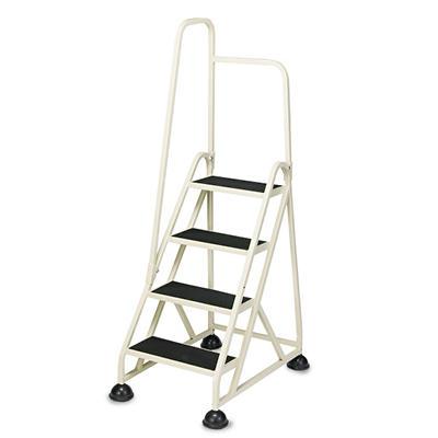 Cramer 4-Step Aluminum Left Handrail Step Ladder