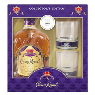 CROWN ROYAL 1.75L W/ FLASK