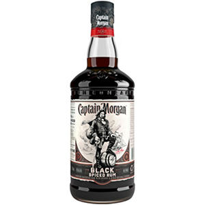 Captain Morgan Black Spiced Rum (750ML)