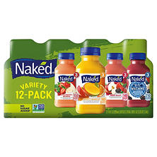 Naked Juice Variety Pack (10 oz., 12 ct.)
