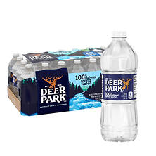 Deer Park Natural Spring Water - 20 oz. bottles - 28 pk.