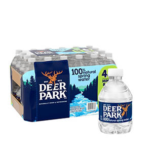 Deer Park Natural Spring Water (8 fl. oz. bottles, 48 ct.)