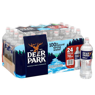 Deer Park Natural Spring Water (700 ml bottles, 24 pk.)