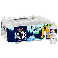 Deer Park Natural Spring Water (16.9 oz. bottles, 40 pk.)